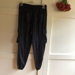 Denim & Supply by Raulph Laure silky cargo joggers